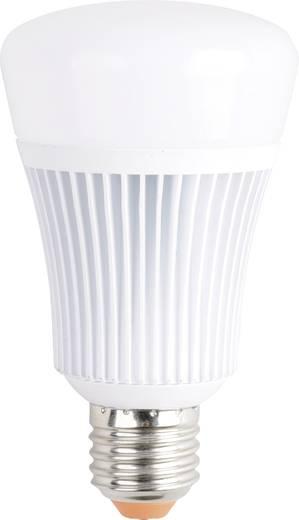 JEDI Lighting LED E27 Glühlampenform 11 W = 60 W RGBW (Ø x L) 68 mm x 119 mm EEK: A colorchanging, dimmbar 1 St.