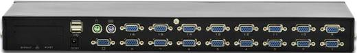 Digitus DS-23300-1 16 Port KVM-Umschalter VGA USB, PS/2 1280 x 1024 Pixel
