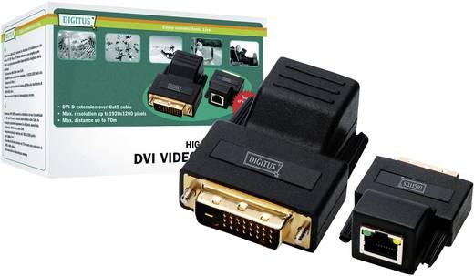DVI Extender (Verlängerung) über Netzwerkkabel RJ45 Digitus DS-54101 75 m