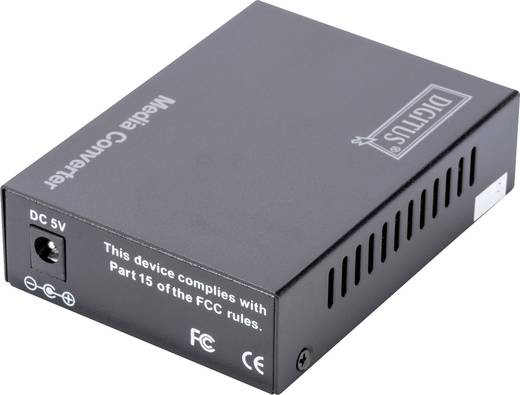 LAN, SC Duplex Netzwerk-Medienkonverter 100 MBit/s Digitus Professional DN-82021-1