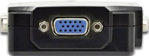 Digitus Professional DS-42120-1 4 Port VGA-Splitter einzeln schaltbar, mit Status-LEDs 1920 x 1080 Pixel Schwarz