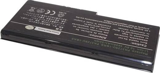 Toshiba Notebook-Akku ersetzt Original-Akku PA3729U-1BAS, PA3729U-1BRS, PABAS207 10.8 V 4400 mAh