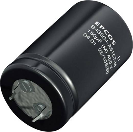 Epcos B43504A9686M000 Elektrolyt-Kondensator SnapIn 68 µF 400 V 20 % (Ø x H) 22 mm x 25 mm 640 St.