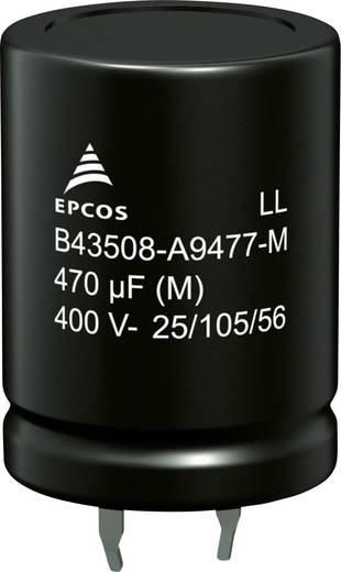 Epcos B43508A2477M000 Elektrolyt-Kondensator SnapIn 470 µF 200 V 20 % (Ø x H) 22 mm x 35 mm 640 St. Tray