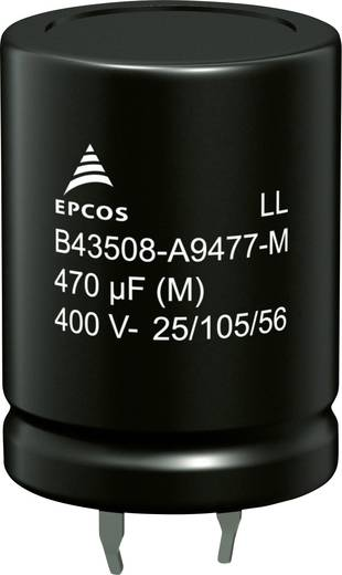 Epcos B43508B2827M000 Elektrolyt-Kondensator SnapIn 820 µF 200 V 20 % (Ø x H) 25 mm x 40 mm 520 St.