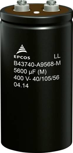 Epcos B43740A9568M000 Elektrolyt-Kondensator Schraubanschluss 5600 µF 400 V 20 % (Ø x H) 76.9 mm x 143.2 mm 32 St. Tra