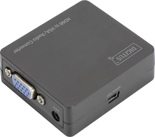 Digitus AV Konverter DS-40310-1 [HDMI - VGA, Klinke] 1024 x 768 Pixel