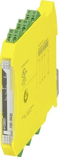 Sicherheitsrelais 1 St. PSR-MC40-3NO-1DO-24DC-SP Phoenix Contact Betriebsspannung: 24 V/DC 3 Schließer (B x H x T) 12.5