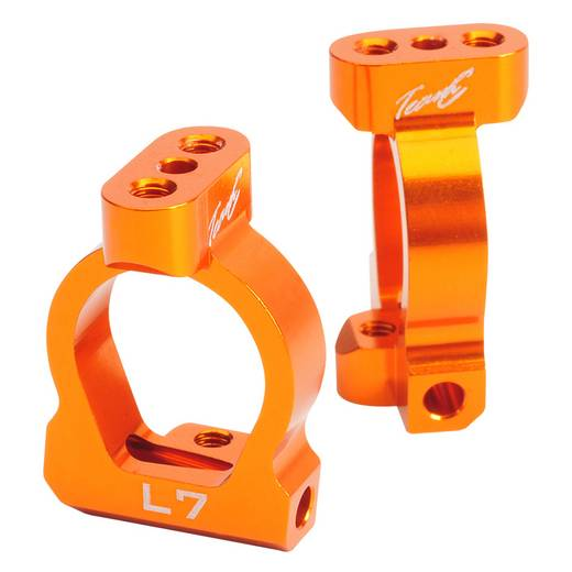 Ersatzteil Team C TU0461 Alu Achsschenkelhalter 7° orange