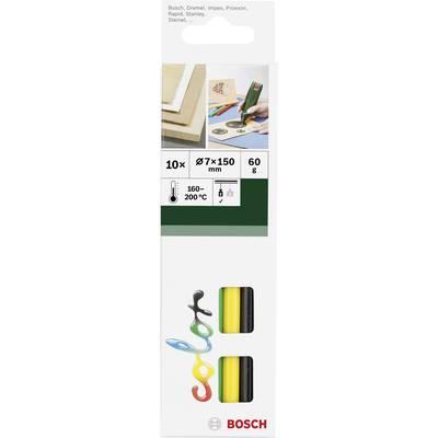 Bosch Accessories Heißklebesticks 7 mm 150 mm Verschiedenfarbig sortiert 10 St. Preisvergleich