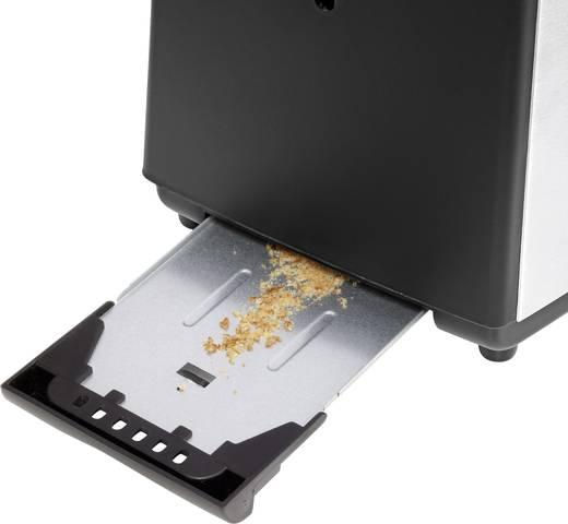 WMF Bueno Toaster mit eingebautem Brötchenaufsatz Chrom (matt)