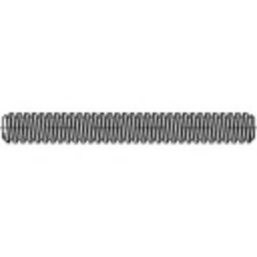 Gewindestange M18 1000 mm Stahl galvanisch verzinkt TOOLCRAFT 134766 1 St.