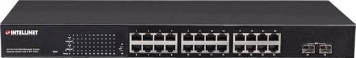 Intellinet 560559 Netzwerk Switch RJ45/SFP 24 + 2 Port 1 Gbit/s PoE-Funktion