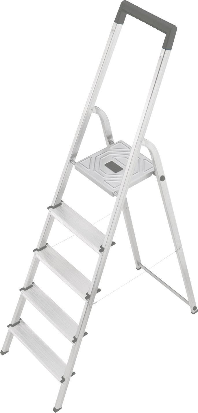 Hervorragend Hailo S 150 8925-321 Aluminium Stufen-Stehleiter Arbeitshöhe (max FS54