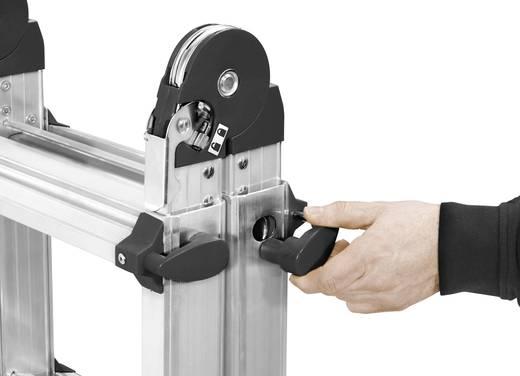 Hailo mtl 7520 701 aluminium teleskopleiter arbeitshöhe max. : 5.15