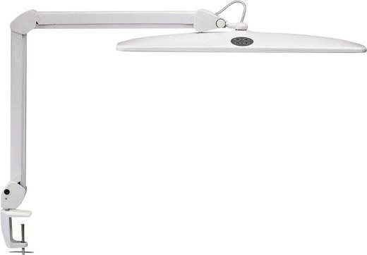 Maul Work 8205202 LED-Schreibtischleuchte mit Klemmfuß 21 W Tageslicht-Weiß Weiß