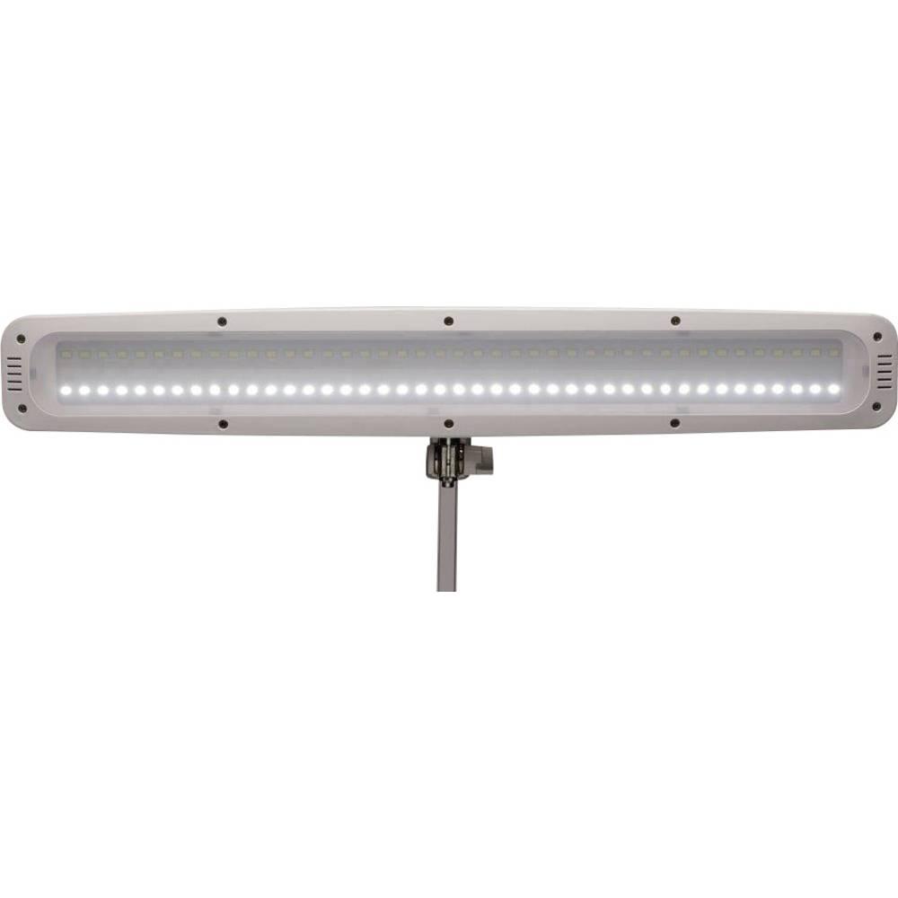 lampe led de bureau avec pince 21 w blanc lumi re du jour maul work 8205202 blanc sur le site. Black Bedroom Furniture Sets. Home Design Ideas