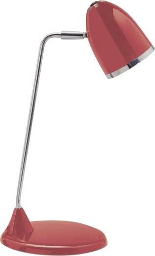 Schreibtischleuchte Energiesparlampe E27 8 W Maul tarlet Rot