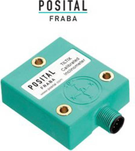 Posital Fraba ACS-010-2-SV40-HE2-PM Neigungssensor Messbereich: -10 - +10 ° Analog Spannung, RS-232 M12, 8 polig
