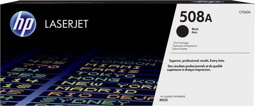 HP Toner 508A CF360A Original Schwarz 6000 Seiten