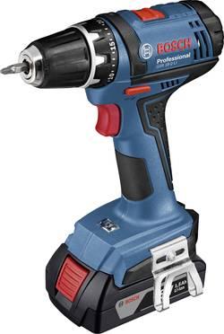 Aku vŕtací skrutkovač Bosch Professional GSR 18-2-LI Plus 06019E6100, 18 V, 2 Ah, Li-Ion akumulátor