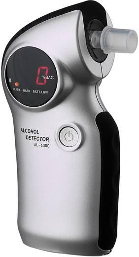 ACE AL6000 Alkoholtester Silber 0.0 bis 4 ‰ auswechselbarer Sensor, inkl. Display