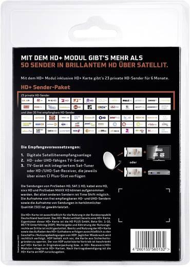 HD+ Modul CI+ Modul SAT inkl. 6 Monate kostenlosen HD+ Empfang
