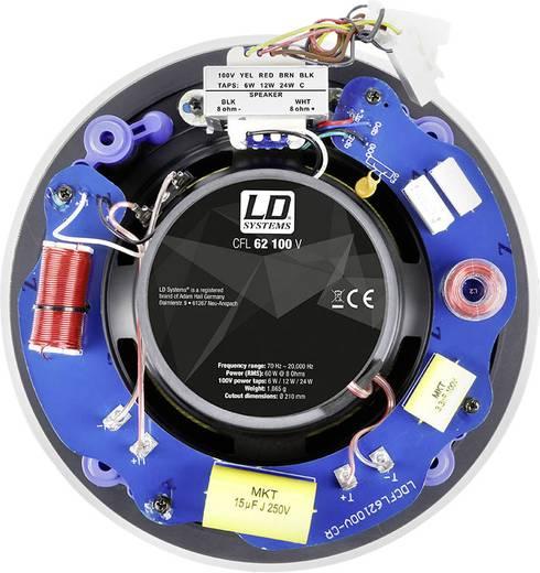 ELA-Einbaulautsprecher LD Systems LDCFL62100V 120 W 100 V Weiß 1 St.