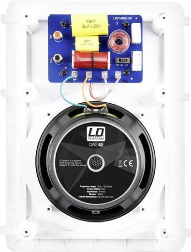 Einbaulautsprecher LD Systems LDCIWS62 120 W 8 Ω Weiß 1 St.