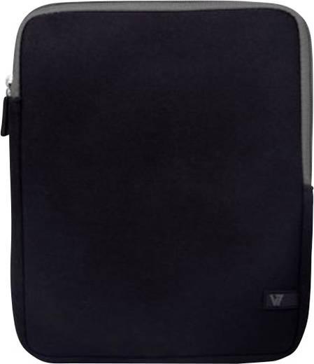 """V7 Videoseven Sleeve Tablet Tasche, universal Passend für Display-Größe (Bereich): 20,1 cm (7,9"""") Schwarz-Grau"""