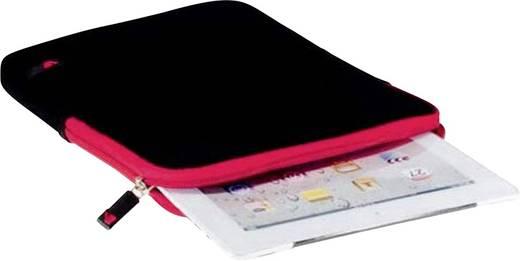 """V7 Videoseven Sleeve Tablet Tasche, universal Passend für Display-Größe (Bereich): 20,1 cm (7,9"""") Schwarz/Rot"""