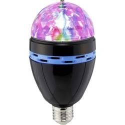LED farebná party žiarovka Renkforce E27 PARTYLAMP, E27, 1 W
