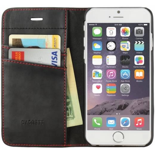 iPhone Flip Case Cygnett Urban Wallet , Schwarz, Red