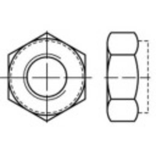 Sicherungsmuttern M10 DIN 980 Stahl galvanisch verzinkt, gelb chromatisiert 100 St. TOOLCRAFT 135128