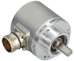 Codeur SSI avec RAZ, incrémental (Push-Pull) monotour Posital Fraba OCD-S6D1G-0016-C10S-PRP optique bride de serrage 1