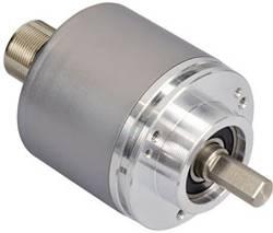 Codeur SSI avec RAZ, incrémental (Push-Pull) monotour Posital Fraba OCD-S6B1B-0016-C10S-PAP optique bride de serrage 1