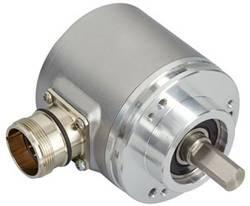 Codeur SSI avec RAZ, incrémental (Push-Pull) monotour Posital Fraba OCD-S6D1B-0016-C10S-PRP optique bride de serrage 1