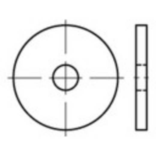 TOOLCRAFT Scheiben 80 mm Edelstahl A4 10 St.