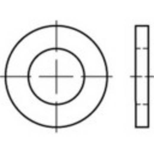 TOOLCRAFT 135835 Unterlegscheiben Innen-Durchmesser: 29 mm DIN 1441 Stahl 100 St.