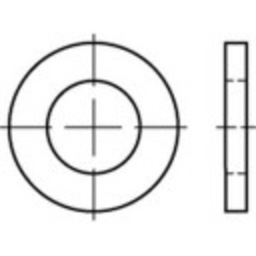 Unterlegscheiben Innen-Durchmesser: 9 mm DIN 1441 Stahl galvanisch verzinkt 250 St. TOOLCRAFT 135854