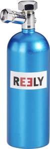 Reely Lachgas-Demoflasche Blau