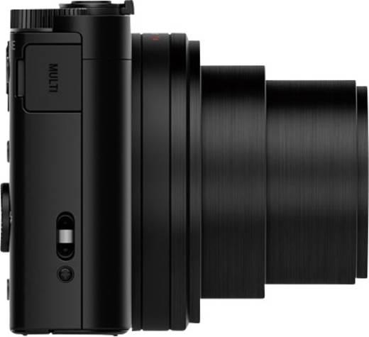 Sony DSC-WX500 Digitalkamera 18.2 Mio. Pixel Opt. Zoom: 30 x Schwarz Dreh-/schwenkbares Display, Full HD Video, Live-Vi