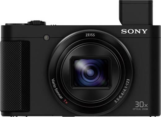Sony DSC-HX90 Digitalkamera 18.2 Mio. Pixel Opt. Zoom: 30 x Schwarz Dreh-/schwenkbares Display, Elektronischer Sucher,
