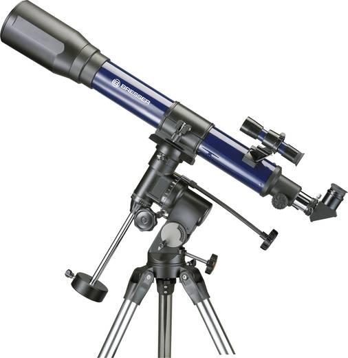Linsen-Teleskop Bresser Optik Jupiter 70/700 EQ Äquatorial Achromatisch, Vergrößerung 35 bis 140 x
