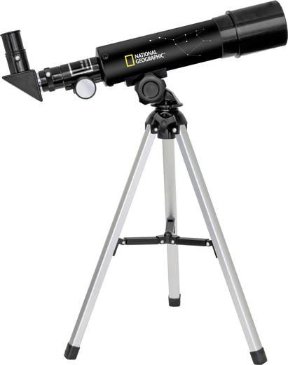 National Geographic 50/360 Linsen-Teleskop Azimutal Achromatisch, Vergrößerung 18 bis 60 x