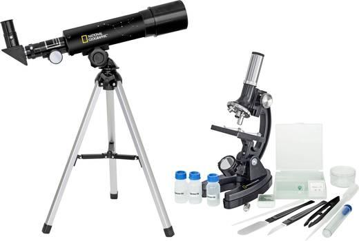 National Geographic Linsen-Teleskop Azimutal Achromatisch, Vergrößerung 18 bis 60 x