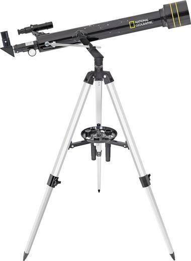 National Geographic 60/700 AZ Linsen-Teleskop Azimutal Achromatisch, Vergrößerung 35 bis 525 x