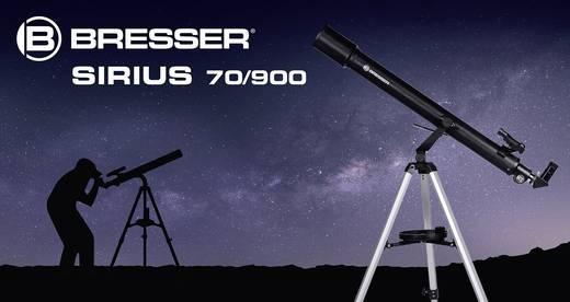 Bresser optik sirius 70 900 az linsen teleskop azimutal achromatisch