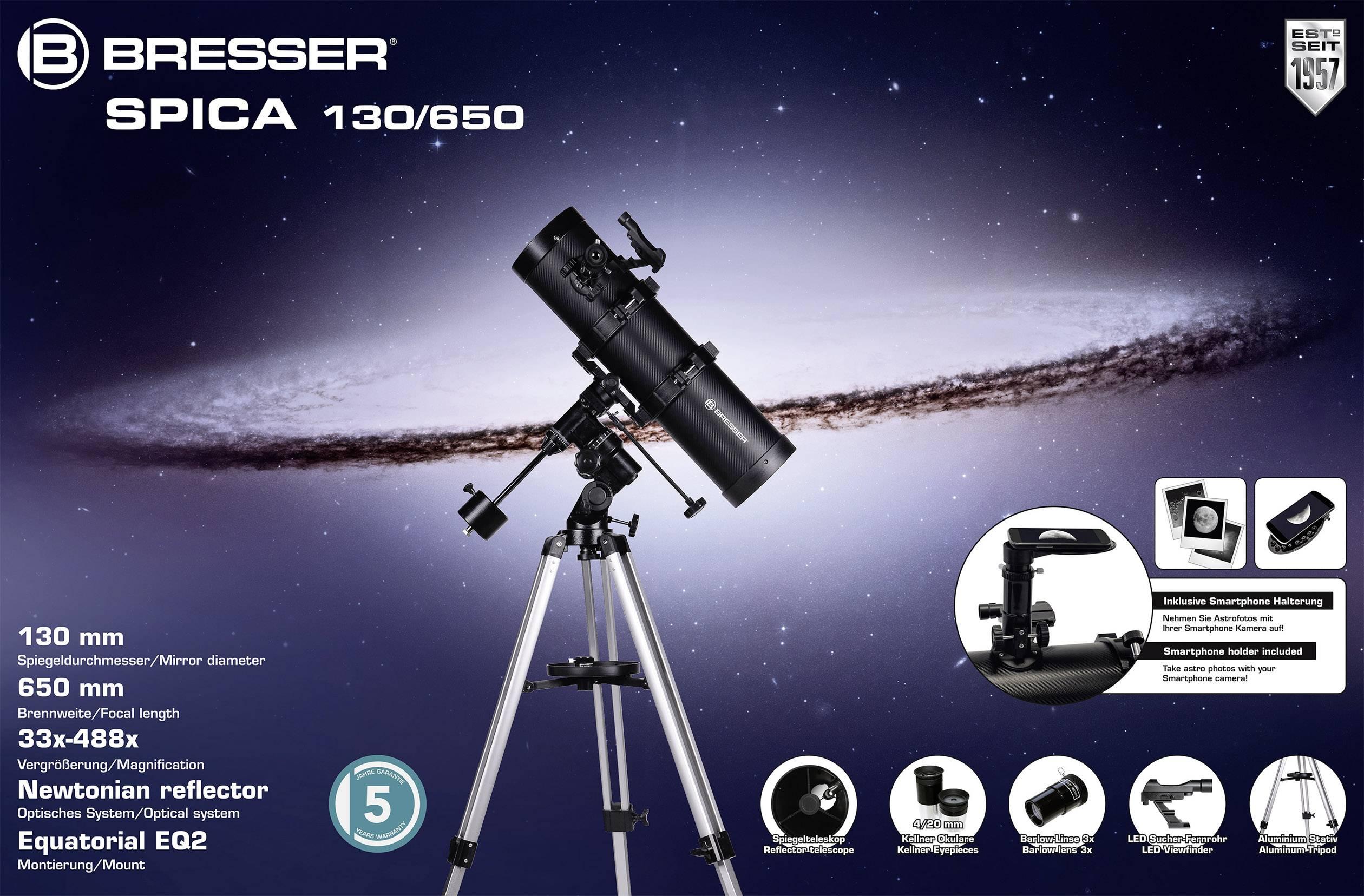 Spiegelteleskop zeppy