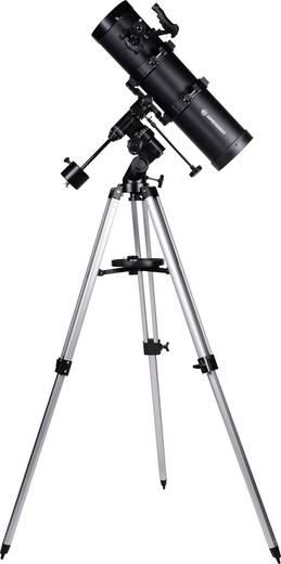 Spiegel-Teleskop Bresser Optik Spica 130/650 EQ2 carbon Äquatorial Newton, Vergrößerung 32 bis 488 x